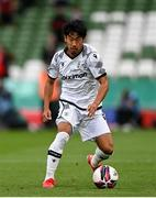 3 August 2021; Shinji Kagawa of PAOK during the UEFA Europa Conference League third qualifying round first leg match between Bohemians and PAOK at Aviva Stadium in Dublin. Photo by Harry Murphy/Sportsfile
