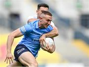 1 August 2021; Paddy Small of Dublin in action against Ryan Houlihan of Kildare during the Leinster GAA Football Senior Championship Final match between Dublin and Kildare at Croke Park in Dublin. Photo by Piaras Ó Mídheach/Sportsfile
