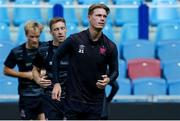 4 August 2021; Daniel Cleary of Dundalk during a Dundalk squad training session at GelreDome in Arnhem, Netherlands. Photo by Rene Nijhuis/Sportsfile