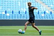 4 August 2021; Greg Sloggett of Dundalk during a Dundalk squad training session at GelreDome in Arnhem, Netherlands. Photo by Rene Nijhuis/Sportsfile