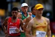 5 August 2021; David Kenny of Ireland in action during the men's 20 kilometre walk final at Sapporo Odori Park on day 13 during the 2020 Tokyo Summer Olympic Games in Sapporo, Japan. Photo by Ramsey Cardy/Sportsfile