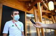 6 August 2021; Team Ireland boxing high performance director Bernard Dunne during a media conference in the Olympic Village during the 2020 Tokyo Summer Olympic Games in Tokyo, Japan. Photo by Stephen McCarthy/Sportsfile