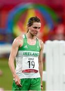6 August 2021; Natalya Coyle of Ireland following the women's individual laser run at Tokyo Stadium on day 14 during the 2020 Tokyo Summer Olympic Games in Tokyo, Japan. Photo by Stephen McCarthy/Sportsfile