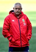 6 August 2021; Head coach Warren Gatland during the British and Irish Lions Captain's Run at Cape Town Stadium in Cape Town, South Africa. Photo by Ashley Vlotman/Sportsfile
