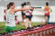 6 August 2021; Natalya Coyle of Ireland during the women's individual laser run at Tokyo Stadium on day 14 during the 2020 Tokyo Summer Olympic Games in Tokyo, Japan. Photo by Stephen McCarthy/Sportsfile Photo by Stephen McCarthy/Sportsfile