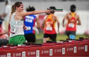 6 August 2021; Natalya Coyle of Ireland during the women's individual laser run at Tokyo Stadium on day 14 during the 2020 Tokyo Summer Olympic Games in Tokyo, Japan. Photo by Stephen McCarthy/Sportsfile
