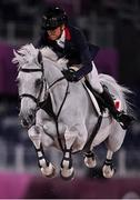 6 August 2021; Simon Delestre of France riding Berlux Z during the jumping team qualifier at the Equestrian Park during the 2020 Tokyo Summer Olympic Games in Tokyo, Japan. Photo by Brendan Moran/Sportsfile