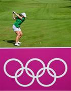 7 August 2021; Stephanie Meadow of Ireland plays from the sixth tee box during round four of the women's individual stroke play at the Kasumigaseki Country Club during the 2020 Tokyo Summer Olympic Games in Kawagoe, Saitama, Japan. Photo by Stephen McCarthy/Sportsfile