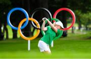 7 August 2021; Stephanie Meadow of Ireland plays from the 16th tee box during round four of the women's individual stroke play at the Kasumigaseki Country Club during the 2020 Tokyo Summer Olympic Games in Kawagoe, Saitama, Japan. Photo by Stephen McCarthy/Sportsfile