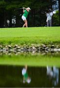 7 August 2021; Stephanie Meadow of Ireland plays from the 17th tee box during round four of the women's individual stroke play at the Kasumigaseki Country Club during the 2020 Tokyo Summer Olympic Games in Kawagoe, Saitama, Japan. Photo by Stephen McCarthy/Sportsfile