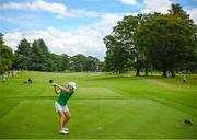 7 August 2021; Stephanie Meadow of Ireland plays from the 11th tee box during round four of the women's individual stroke play at the Kasumigaseki Country Club during the 2020 Tokyo Summer Olympic Games in Kawagoe, Saitama, Japan. Photo by Stephen McCarthy/Sportsfile