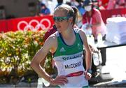 7 August 2021; Fionnuala McCormack of Ireland after finishing 25th in the women's marathon at Sapporo Odori Park on day 15 during the 2020 Tokyo Summer Olympic Games in Sapporo, Japan. Photo by Ramsey Cardy/Sportsfile