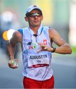 6 August 2021; Rafal Augustyn of Poland in action during the men's 50 kilometre walk final at Sapporo Odori Park on day 14 during the 2020 Tokyo Summer Olympic Games in Sapporo, Japan. Photo by Ramsey Cardy/Sportsfile