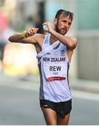 6 August 2021; Quentin Rew of New Zealand in action during the men's 50 kilometre walk final at Sapporo Odori Park on day 14 during the 2020 Tokyo Summer Olympic Games in Sapporo, Japan. Photo by Ramsey Cardy/Sportsfile