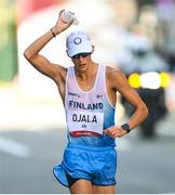 6 August 2021; Aleksi Ojala of Finland in action during the men's 50 kilometre walk final at Sapporo Odori Park on day 14 during the 2020 Tokyo Summer Olympic Games in Sapporo, Japan. Photo by Ramsey Cardy/Sportsfile