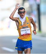 6 August 2021; Maryan Zakalnytskyy of Ukraine in action during the men's 50 kilometre walk final at Sapporo Odori Park on day 14 during the 2020 Tokyo Summer Olympic Games in Sapporo, Japan. Photo by Ramsey Cardy/Sportsfile