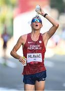 6 August 2021; Vit Hlavac of Czech Republic in action during the men's 50 kilometre walk final at Sapporo Odori Park on day 14 during the 2020 Tokyo Summer Olympic Games in Sapporo, Japan. Photo by Ramsey Cardy/Sportsfile