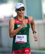 6 August 2021; Horacio Nava of Mexico in action during the men's 50 kilometre walk final at Sapporo Odori Park on day 14 during the 2020 Tokyo Summer Olympic Games in Sapporo, Japan. Photo by Ramsey Cardy/Sportsfile