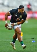 7 August 2021; Bundee Aki of British and Irish Lions before the third test of the British and Irish Lions tour match between South Africa and British and Irish Lions at Cape Town Stadium in Cape Town, South Africa. Photo by Ashley Vlotman/Sportsfile