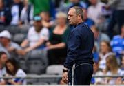 7 August 2021; Waterford manager Liam Cahill before the GAA Hurling All-Ireland Senior Championship semi-final match between Limerick and Waterford at Croke Park in Dublin. Photo by Piaras Ó Mídheach/Sportsfile