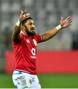 7 August 2021; Bundee Aki of British and Irish Lions during the third test of the British and Irish Lions tour match between South Africa and British and Irish Lions at Cape Town Stadium in Cape Town, South Africa. Photo by Ashley Vlotman/Sportsfile