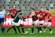 7 August 2021; Jack Conan of British and Irish Lions in action against Siya Kolisi of South Africa during the third test of the British and Irish Lions tour match between South Africa and British and Irish Lions at Cape Town Stadium in Cape Town, South Africa. Photo by Ashley Vlotman/Sportsfile