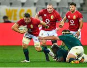 7 August 2021; Jack Conan of British and Irish Lions escapes the tackle of Frans Malherbe of South Africa during the third test of the British and Irish Lions tour match between South Africa and British and Irish Lions at Cape Town Stadium in Cape Town, South Africa. Photo by Ashley Vlotman/Sportsfile