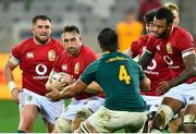 7 August 2021; Jack Conan of British and Irish Lions in action against Eben Etzebeth of South Africa during the third test of the British and Irish Lions tour match between South Africa and British and Irish Lions at Cape Town Stadium in Cape Town, South Africa. Photo by Ashley Vlotman/Sportsfile