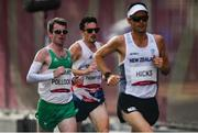 8 August 2021; Paul Pollock of Ireland in action during the men's marathon at Sapporo Odori Park on day 16 during the 2020 Tokyo Summer Olympic Games in Sapporo, Japan. Photo by Ramsey Cardy/Sportsfile