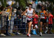 8 August 2021; Callum Hawkins of Great Britain during the men's marathon at Sapporo Odori Park on day 16 during the 2020 Tokyo Summer Olympic Games in Sapporo, Japan. Photo by Ramsey Cardy/Sportsfile