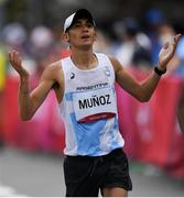 8 August 2021; Eulalio Munoz of Argentina during the men's marathon at Sapporo Odori Park on day 16 during the 2020 Tokyo Summer Olympic Games in Sapporo, Japan. Photo by Ramsey Cardy/Sportsfile
