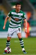5 August 2021; Ronan Finn of Shamrock Rovers during the UEFA Europa Conference League third qualifying round first leg match between Shamrock Rovers and Teuta at Tallaght Stadium in Dublin. Photo by Eóin Noonan/Sportsfile