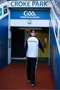 8 August 2021; Kilkenny manager Brian Cody walks down the tunnell after the GAA Hurling All-Ireland Senior Championship semi-final match between Kilkenny and Cork at Croke Park in Dublin. Photo by Harry Murphy/Sportsfile