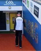 8 August 2021; Kilkenny manager Brian Cody makes his way down the tunnel after after his side's defeat in the GAA Hurling All-Ireland Senior Championship semi-final match between Kilkenny and Cork at Croke Park in Dublin. Photo by Piaras Ó Mídheach/Sportsfile