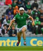 7 August 2021; Aaron Gillane of Limerick during the GAA Hurling All-Ireland Senior Championship semi-final match between Limerick and Waterford at Croke Park in Dublin. Photo by Eóin Noonan/Sportsfile