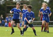 12 August 2021; Michael Scully, age 10, in action during the Bank of Ireland Leinster Rugby Summer Camp at Newbridge RFC in Newbridge, Kildare. Photo by Matt Browne/Sportsfile