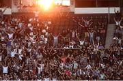 12 August 2021; PAOK supporters in the stand during the UEFA Europa Conference League Third Qualifying Round Second Leg match between PAOK and Bohemians at Toumba Stadium in Thessaloniki, Greece. Photo by Argiris Makris /Sportsfile