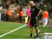 12 August 2021; Bohemians manager Keith Long during the UEFA Europa Conference League Third Qualifying Round Second Leg match between PAOK and Bohemians at Toumba Stadium in Thessaloniki, Greece. Photo by Argiris Makris /Sportsfile