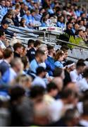 1 August 2021; The Delaney Cup in the Hogan Stand during the Leinster GAA Football Senior Championship Final match between Dublin and Kildare at Croke Park in Dublin. Photo by Piaras Ó Mídheach/Sportsfile
