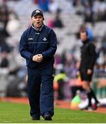14 August 2021; Dublin manager Dessie Farrell during the GAA Football All-Ireland Senior Championship semi-final match between Dublin and Mayo at Croke Park in Dublin. Photo by Ramsey Cardy/Sportsfile