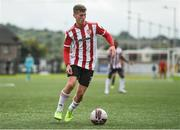 15 August 2021; Caoimhin Porter of Derry City during the SSE Airtricity League Premier Division match between Derry City and Dundalk at Ryan McBride Brandywell Stadium in Derry. Photo by Ben McShane/Sportsfile