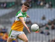 15 August 2021; Aaron Kellaghan of Offaly during the 2021 Eirgrid GAA Football All-Ireland U20 Championship Final match between Roscommon and Offaly at Croke Park in Dublin. Photo by Ray McManus/Sportsfile