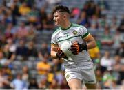 15 August 2021; Offaly goalkeeper Seán O'Toole during the 2021 Eirgrid GAA Football All-Ireland U20 Championship Final match between Roscommon and Offaly at Croke Park in Dublin. Photo by Ray McManus/Sportsfile