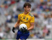 15 August 2021; Ben O'Carroll of Roscommon  during the 2021 Eirgrid GAA Football All-Ireland U20 Championship Final match between Roscommon and Offaly at Croke Park in Dublin. Photo by Ray McManus/Sportsfile