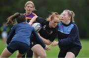 20 August 2021; Georgie Kelly in action during the Bank of Ireland Leinster Rugby School of Excellence at The King's Hospital School in Dublin. Photo by Brendan Moran/Sportsfile