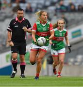 14 August 2021; Sarah Rowe of Mayo during the TG4 Ladies Football All-Ireland Championship semi-final match between Dublin and Mayo at Croke Park in Dublin. Photo by Ray McManus/Sportsfile