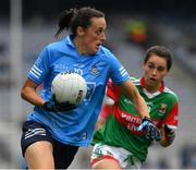 14 August 2021; Hannah Tyrrell of Dublin during the TG4 Ladies Football All-Ireland Championship semi-final match between Dublin and Mayo at Croke Park in Dublin. Photo by Ray McManus/Sportsfile