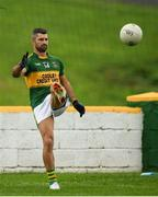 22 August 2021; Former Ireland and Leinster rugby union player Rob Kearney playing for Cooley Kickhams GAC during the Hollywood Developments Division 1 League match between Cooley Kickhams and Newtown Blues at Fr McEvoy Park in Carlingford, Louth. Photo by Philip Fitzpatrick/Sportsfile