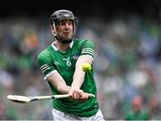 22 August 2021; Declan Hannon of Limerick during the GAA Hurling All-Ireland Senior Championship Final match between Cork and Limerick in Croke Park, Dublin. Photo by Piaras Ó Mídheach/Sportsfile