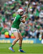 22 August 2021; Aaron Gillane of Limerick during the GAA Hurling All-Ireland Senior Championship Final match between Cork and Limerick in Croke Park, Dublin. Photo by Brendan Moran/Sportsfile *** NO REPRODUCTION FEE ***